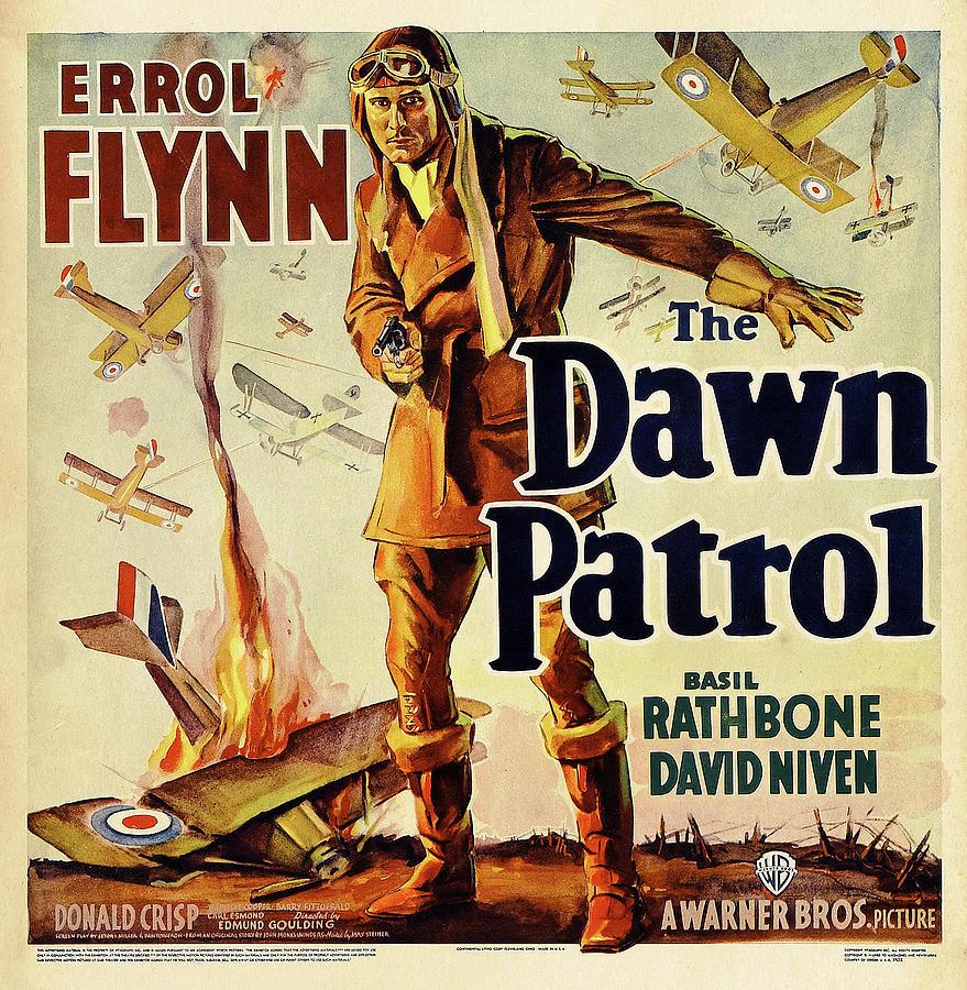 the Dawn Patrol, With Errol Flynn, 1938 Mixed Media