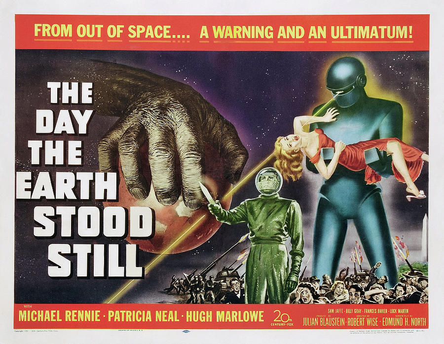 the Day The Earth Stood Still 3, With Patricia Neal, 1951 Mixed Media