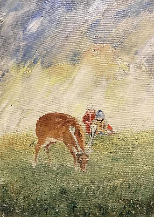 The Deer Painting