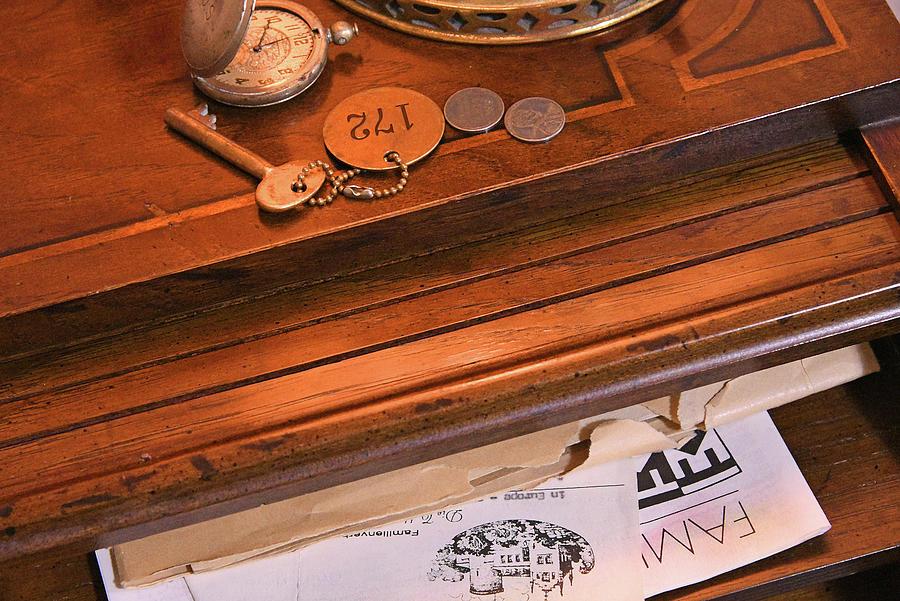 The Desk Mystery Photograph