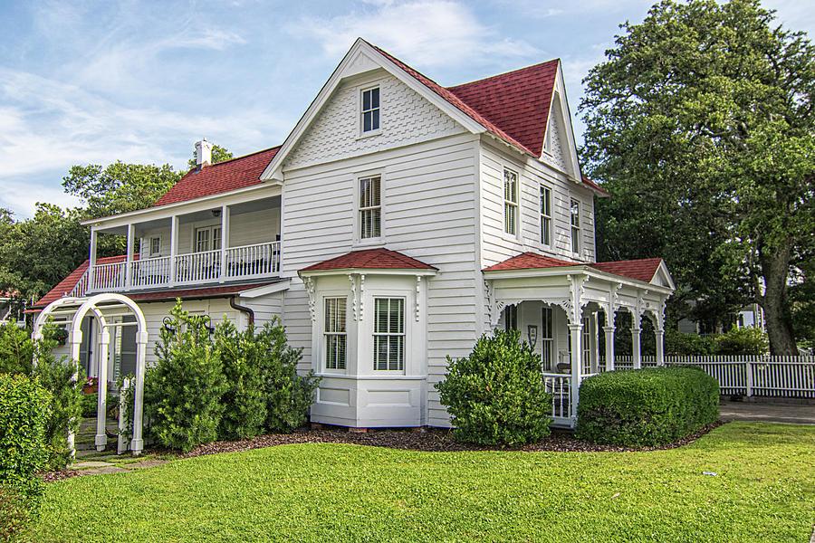 The Dice House 1895 - Beaufort North Carolina Photograph
