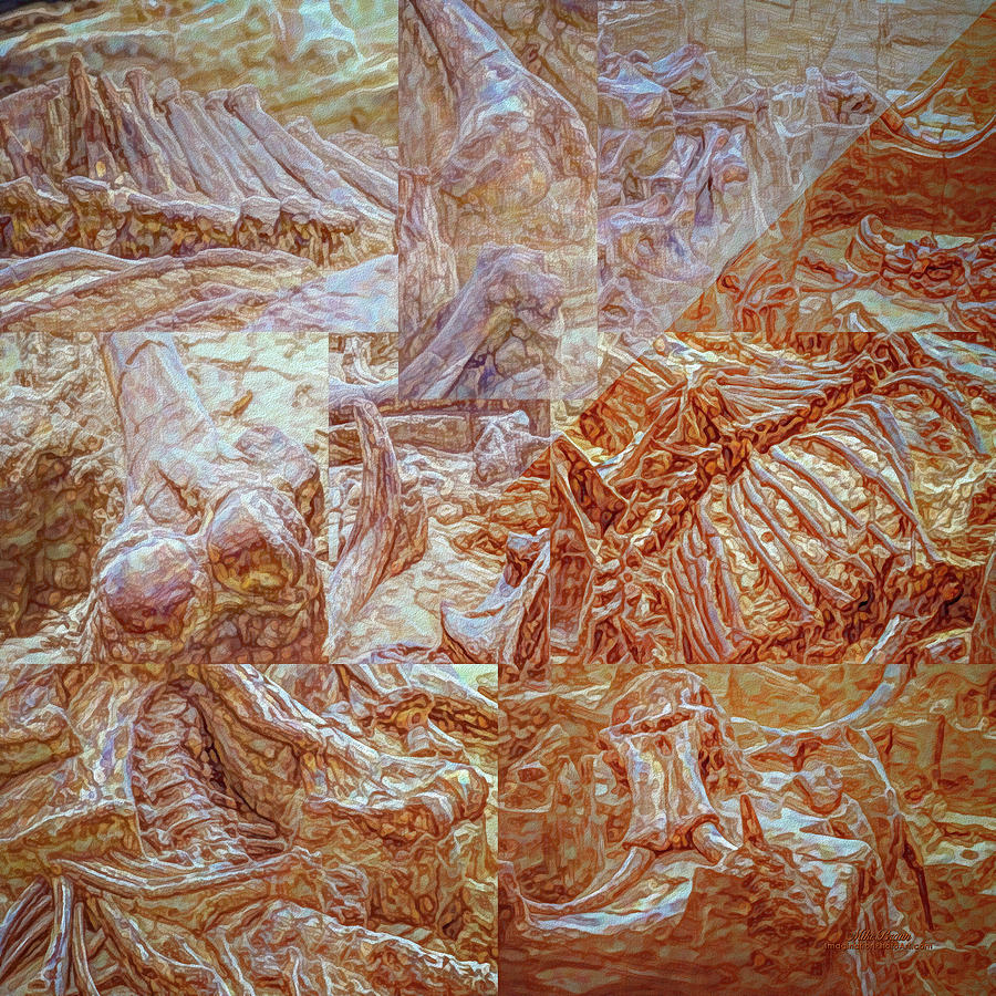 Mammoth Digital Art - The Dig by Mike Braun