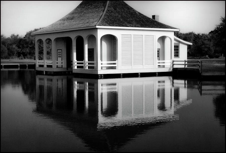 Beaches Photograph - The Dockhouse at Whalehead by Steven Norris