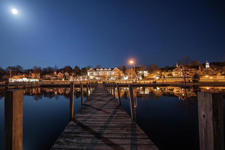 The Docks - Meredith, NH by Trevor Slauenwhite
