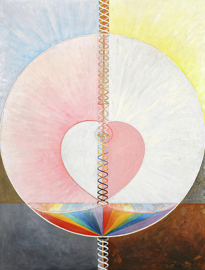 The Dove, No.01 Painting by Hilma af Klint