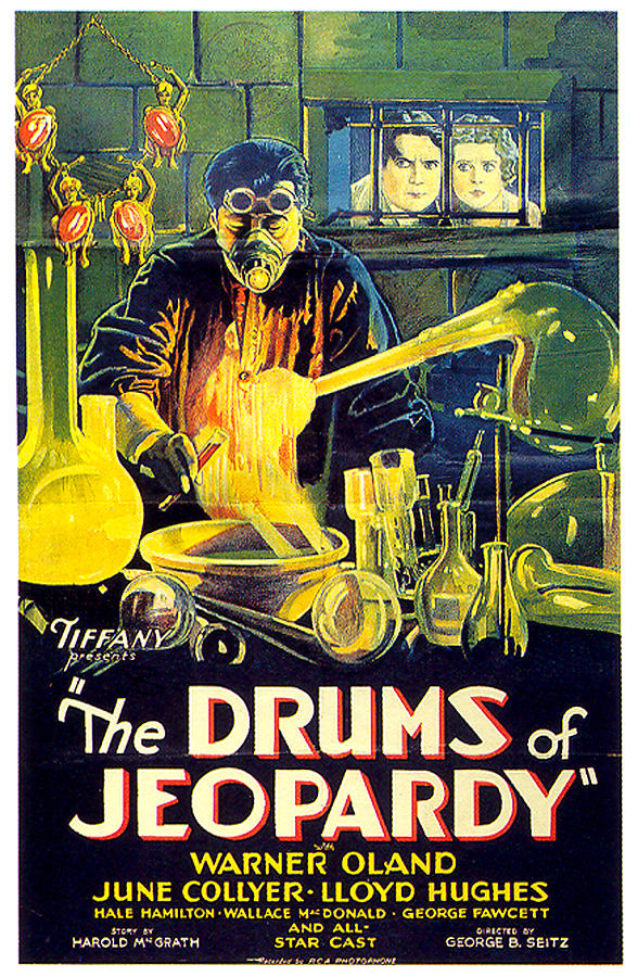 the Drums Of Jeopardy Poster 1931 Mixed Media