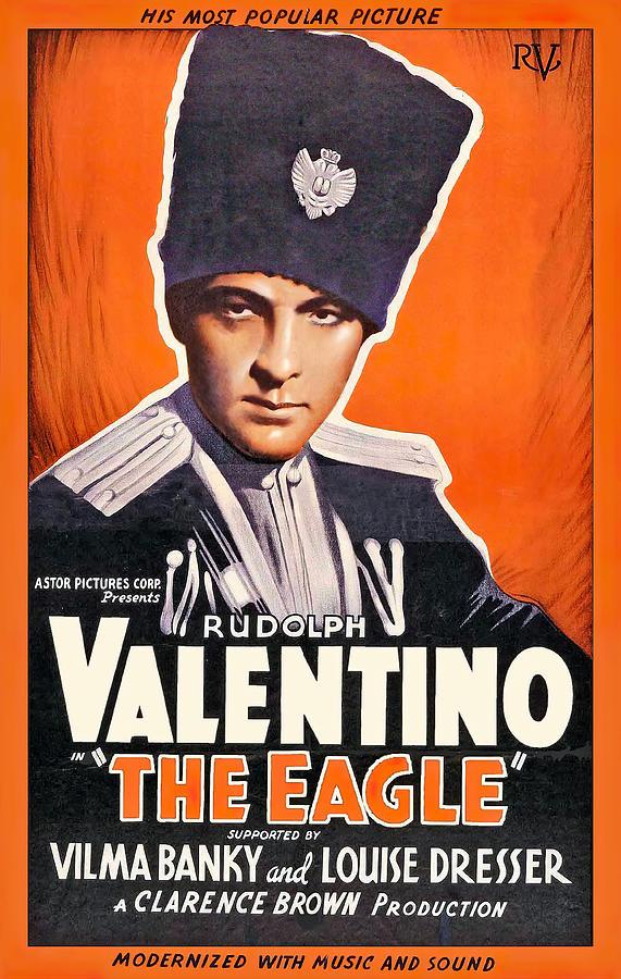 the Eagle - 1925 Mixed Media