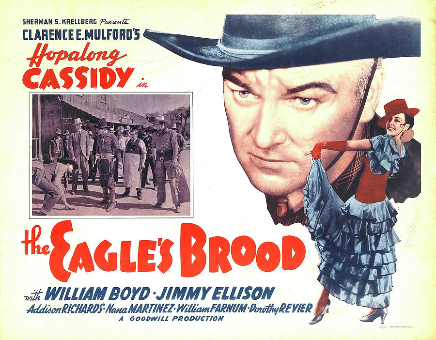 the Eagles Brood With Hopalong Cassidy, 1935 Mixed Media