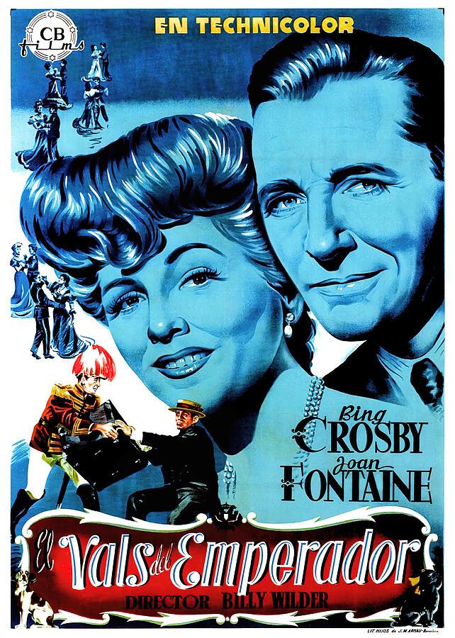 the Emperor Waltz, With Bing Crosby, 1948 Mixed Media