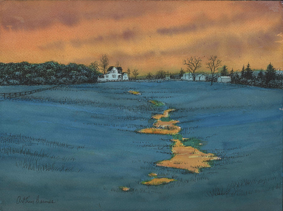 The Empty Meadow Painting