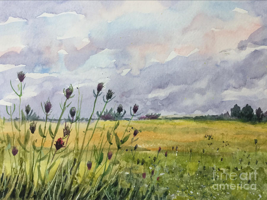 The End Of Summer Painting - The End of Summer by Yohana Knobloch