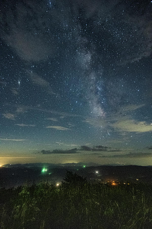 Milky Way Photograph - The Evening Sky by Jim Cook