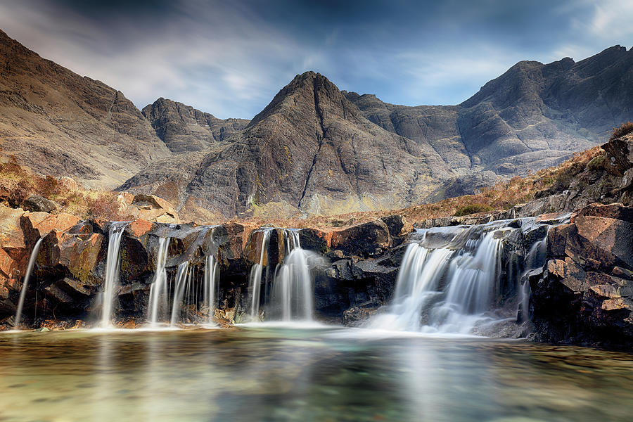 Fairy Pools Photograph - The Fairy Pools - Isle of Skye 3 by Grant Glendinning