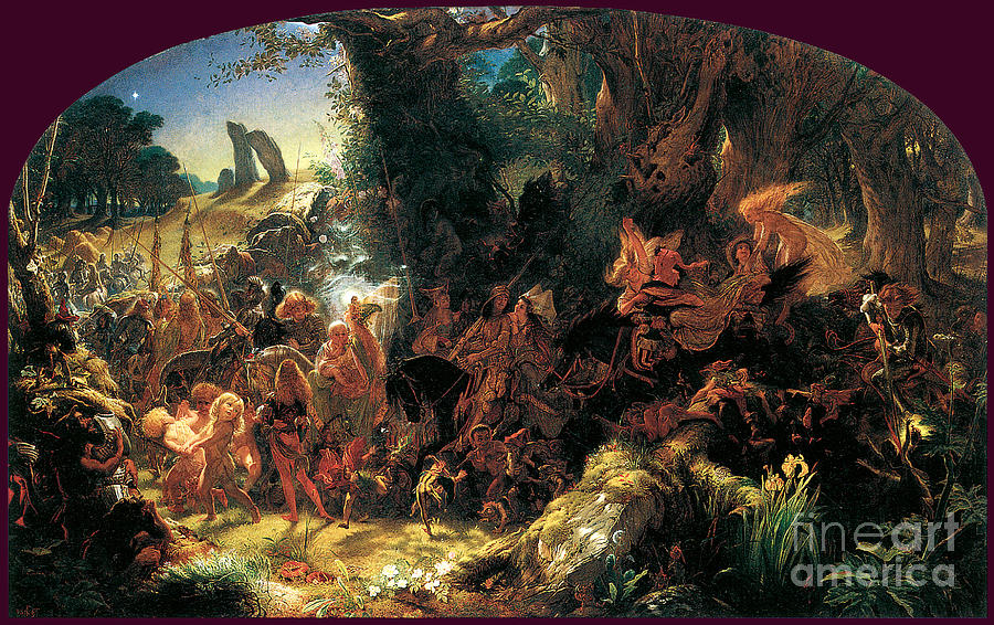 The Fairy Road 1867 Painting