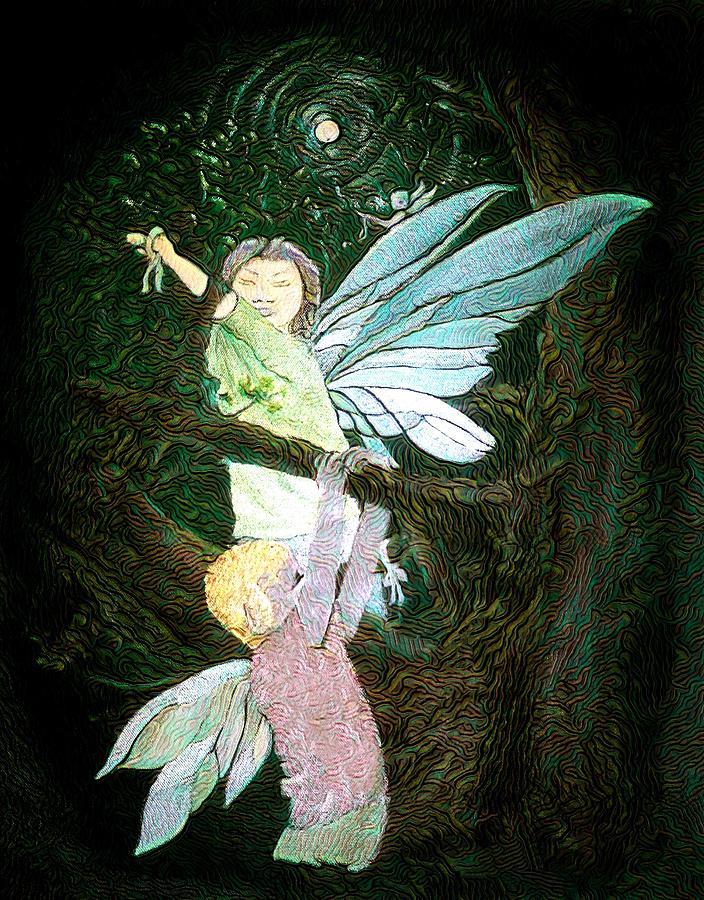 The Fairy Tree Digital Art