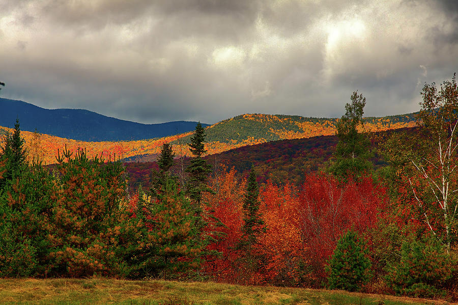 The fall colors of Chocorua New Hampshire by Jeff Folger