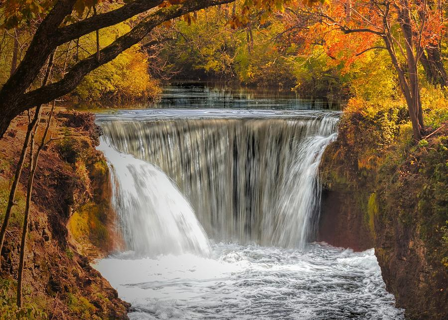 The Falls at Cedarville by Jack Wilson