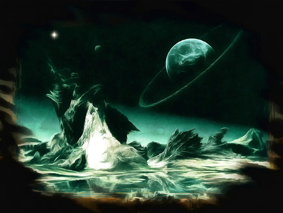 The Far Side Of The Galaxy Digital Art