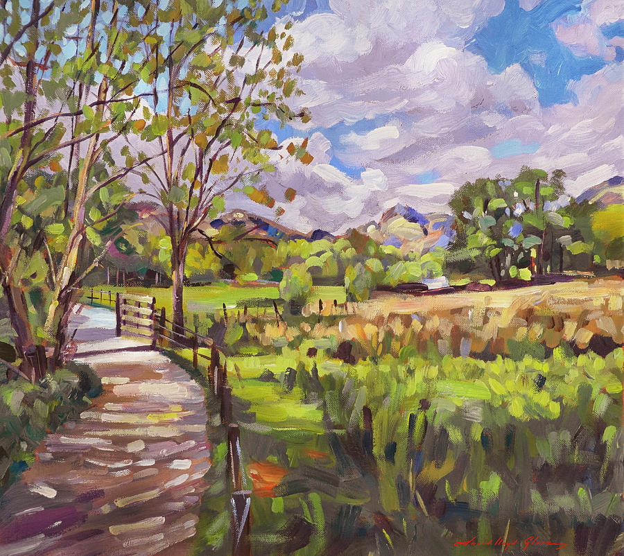 The Farm Gate Painting