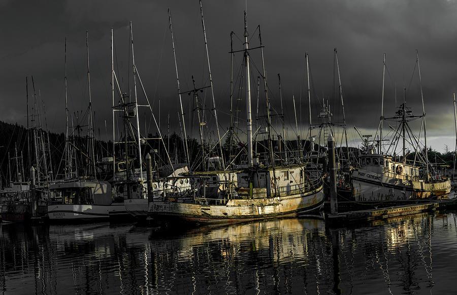 Marine Photograph - The Fishermans Fleet by Jason Brooks