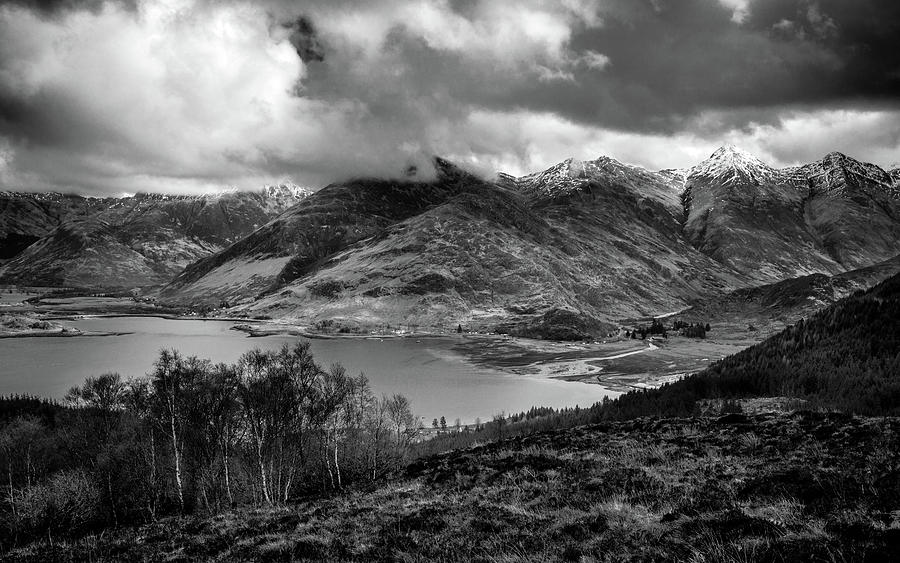 The Five Sisters Of Kintail_0503 Mono Photograph