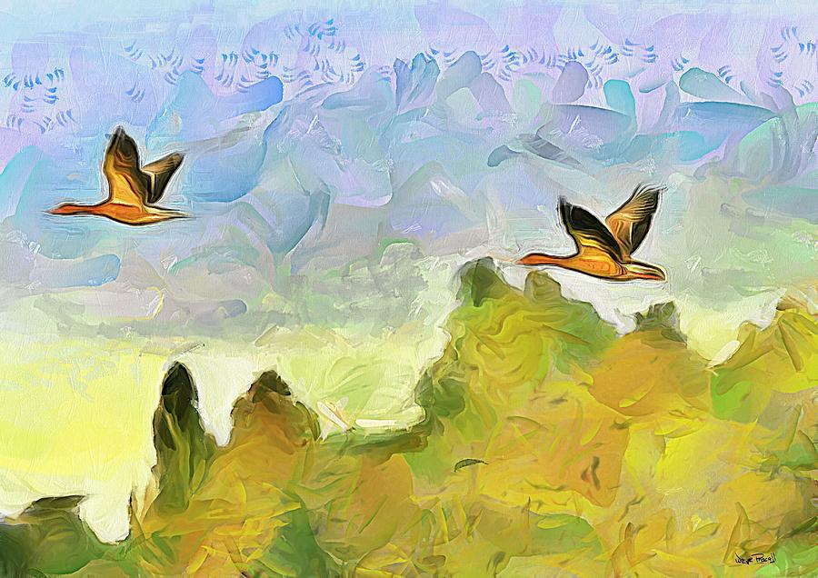 The Flight by Wayne Pascall