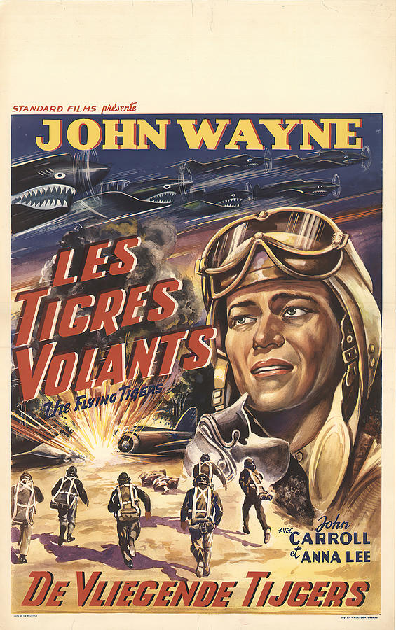 the Flying Tigers, 1942 Mixed Media