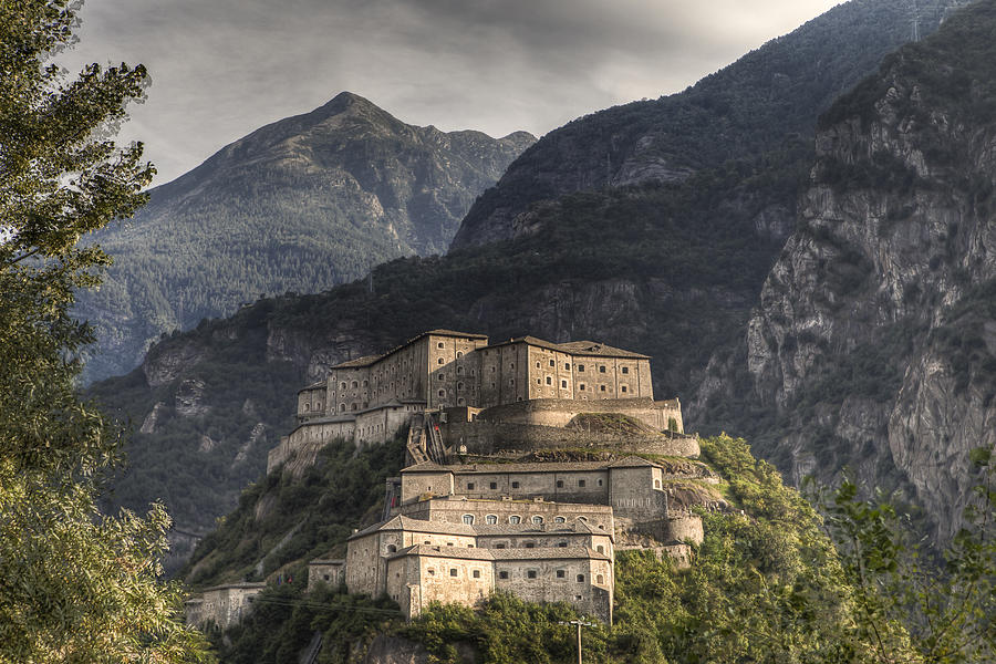The Fortress of Bard Photograph by Adriano Ficarelli