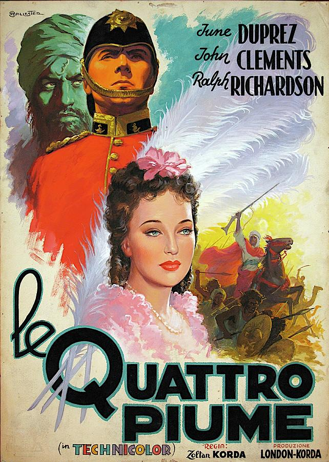the Four Feathers - 1939 Mixed Media
