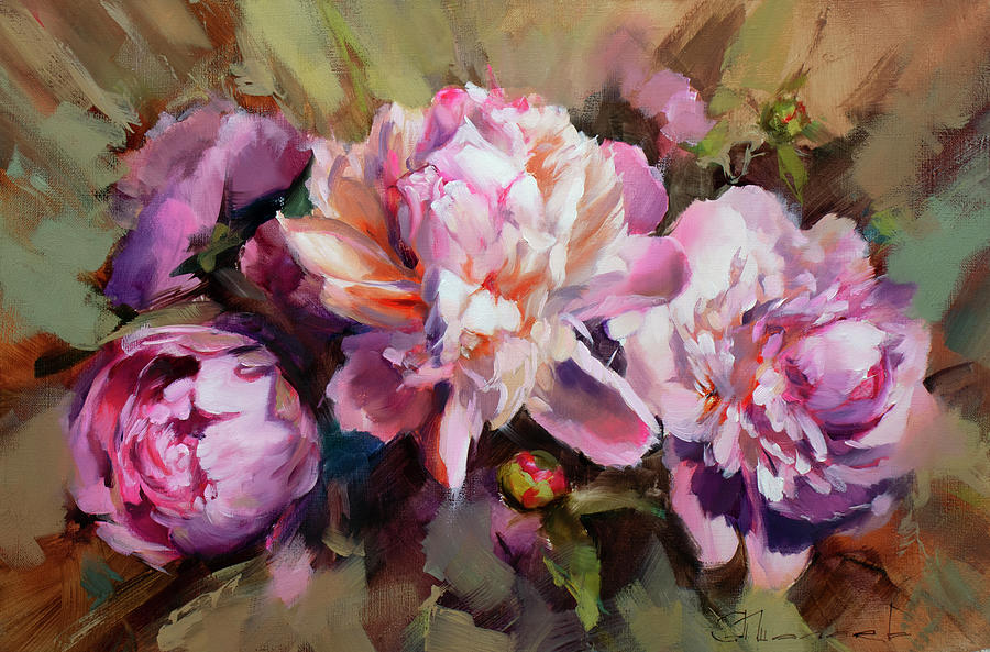 The Fragrance Of Tenderness. Painting