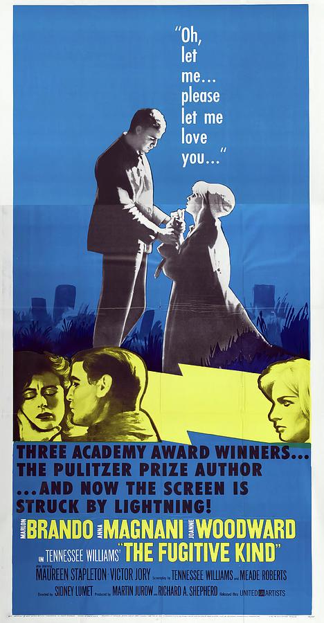the Fugitive Kind, With Marlon Brando, 1960 Mixed Media