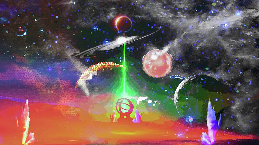 The Future of Space Exploration Digital Art by Don White Artdreamer