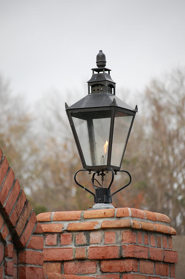 The Gate Lamp by RD Erickson