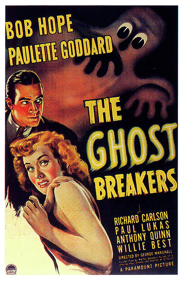 the Ghost Breakers Poster 1940 Mixed Media