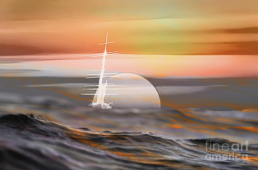 The Ghost Ship Digital Art