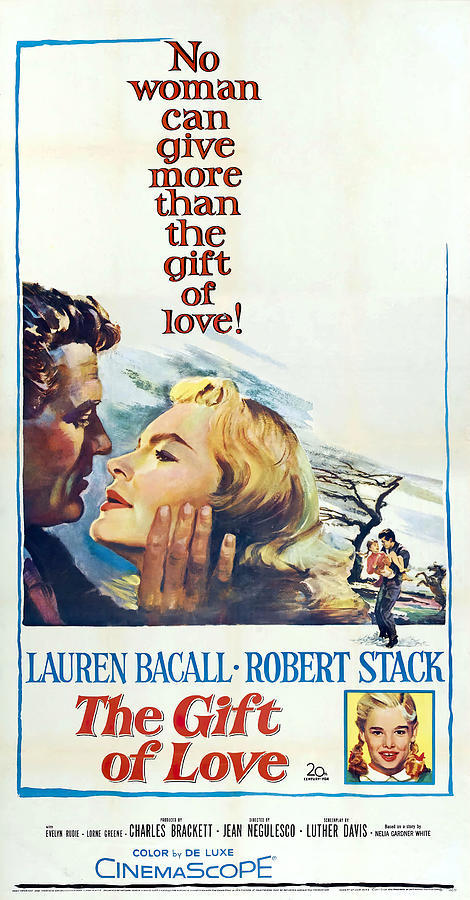 the Gift Of Love, With Lauren Bacall And Robert Stack, 1958 Mixed Media