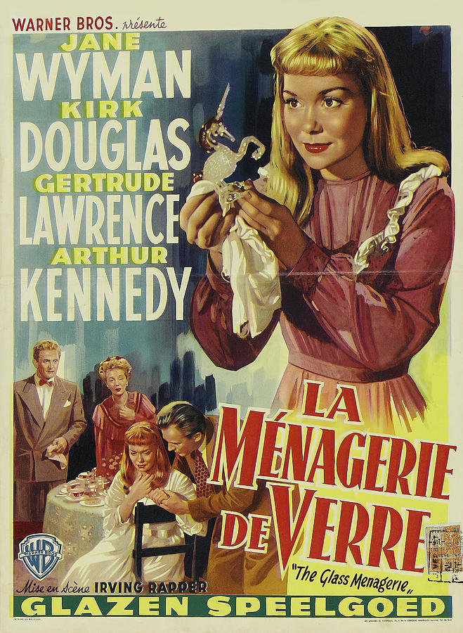 the Glass Menagerie, With Jane Wyman, 1950 Mixed Media