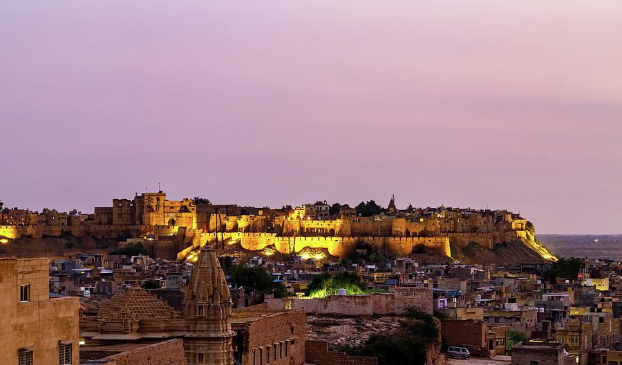 The Golden Fort of Rajasthan by Kay Brewer