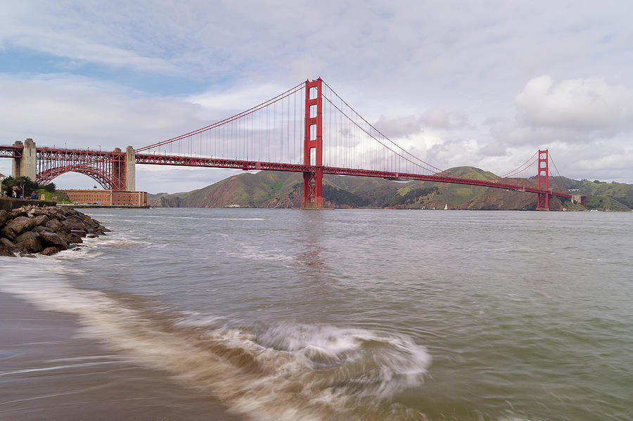 The Golden Gate, Long Exposure Pyrography