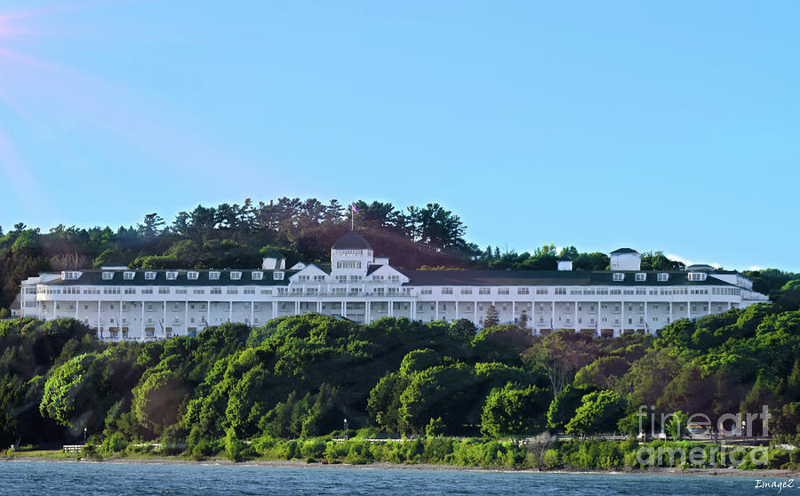 The Grand Hotel Mackinac Island Photograph By Scott Polley