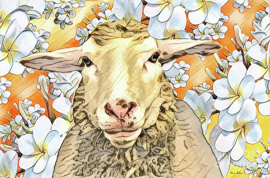 The Happy Ewe Digital Art