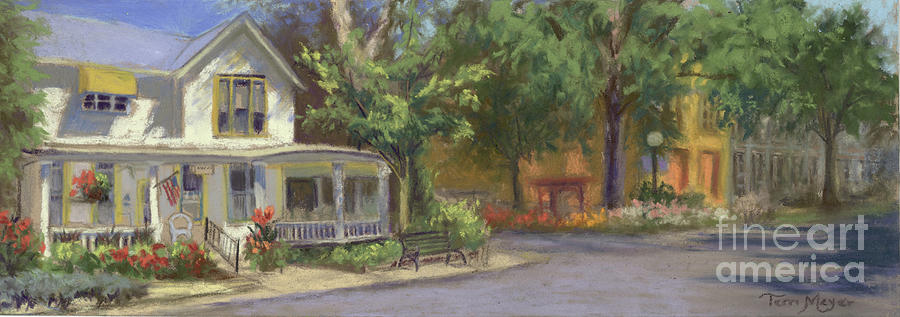 The Historic Maxwell House Painting