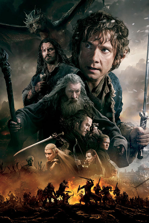 The Hobbit The Battle Of The Five Armies 2014 Digital Art By Geek N Rock