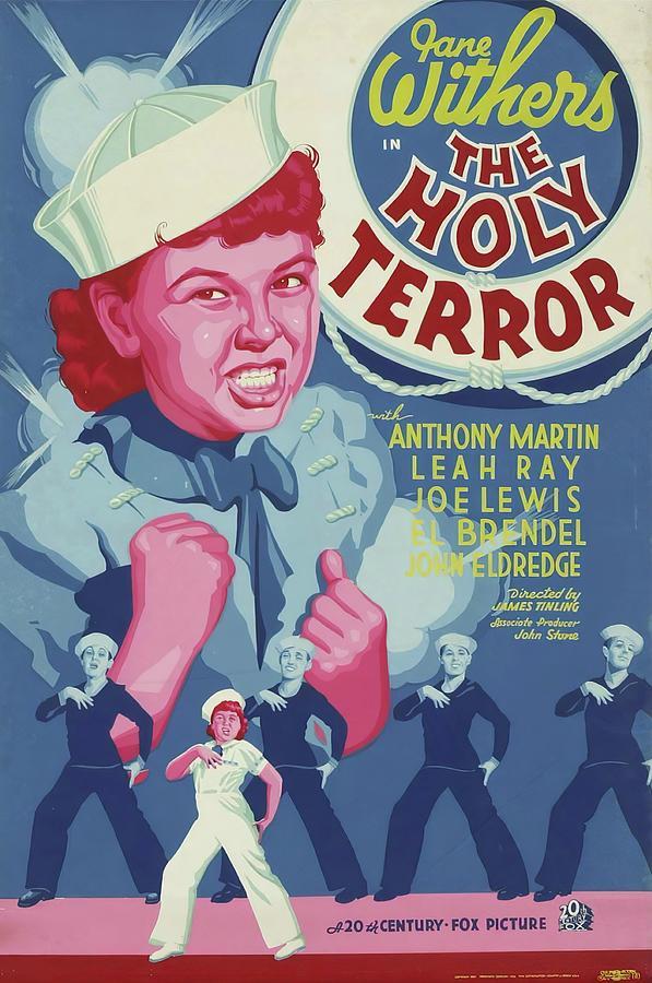 the Holy Terror, 1937 Mixed Media