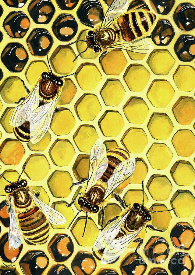 The Honeybee by Antony Galbraith