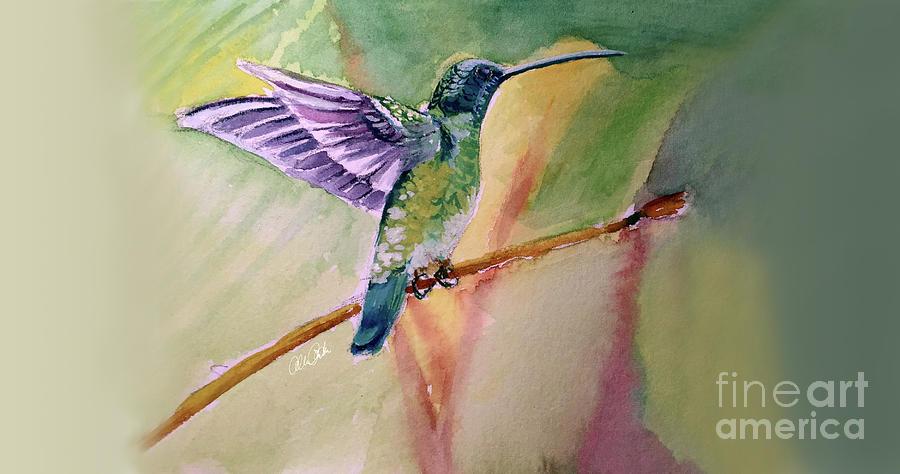 The Hummingbird Painting