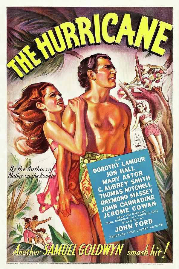 the Hurricane - 1937 Mixed Media