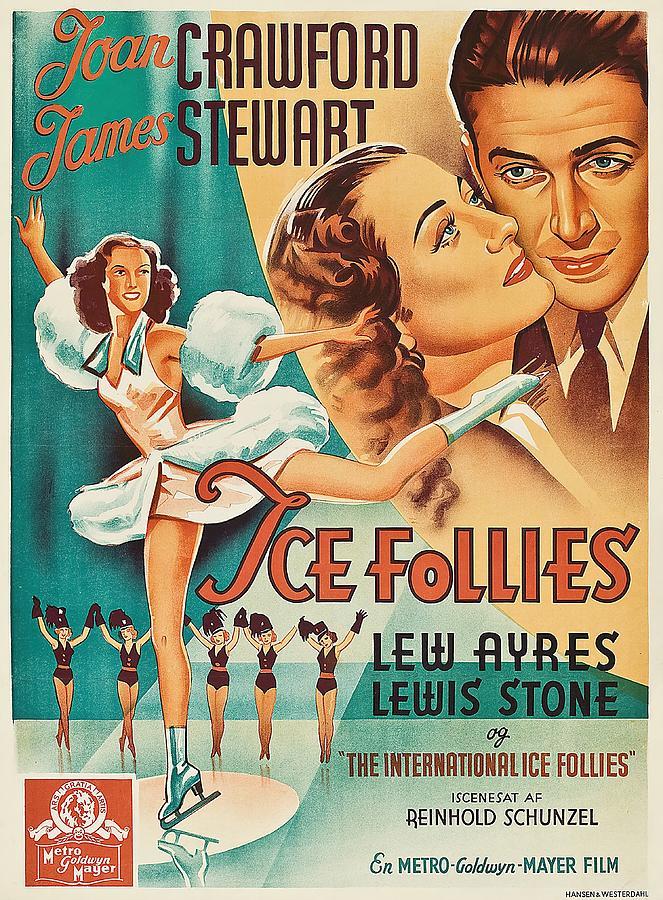 the Ice Follies Of 1939 Mixed Media