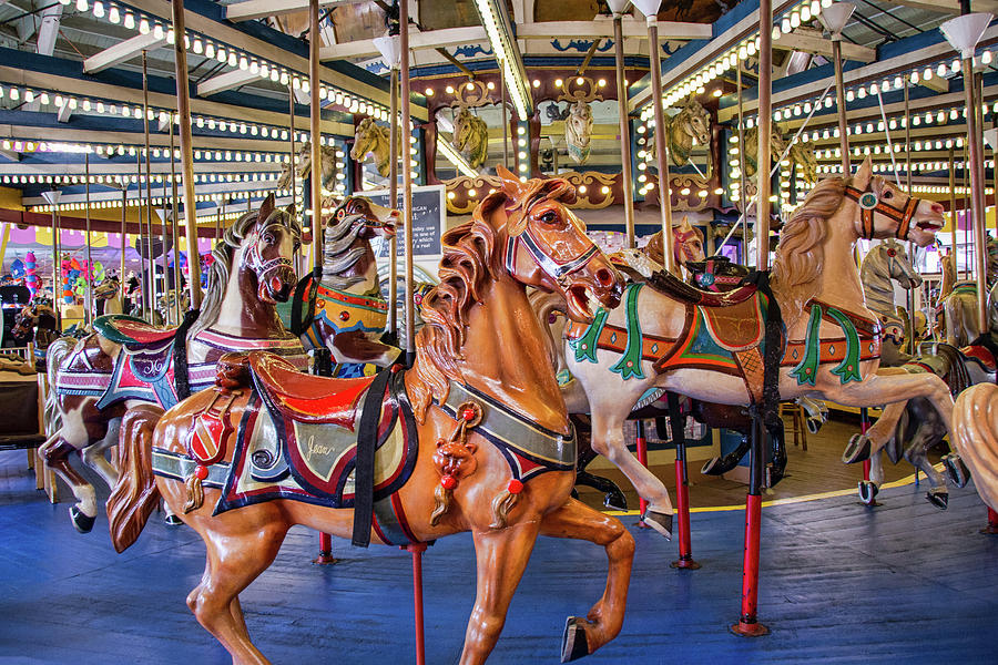 The Iconic Seasides Heights Carousel by Kristia Adams