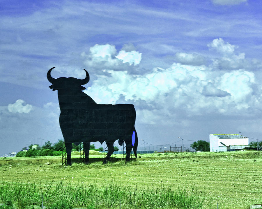 The Iconic Spanish Roadside Bull Photograph